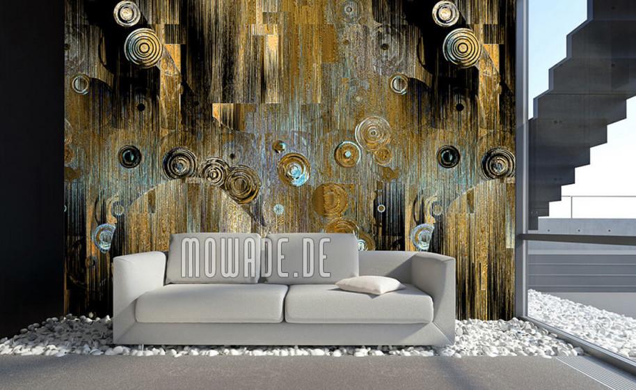 Designtapeten 2020 Von Mowade ®  Modern Und Ausgefallen von Design Tapeten Wohnzimmer Photo