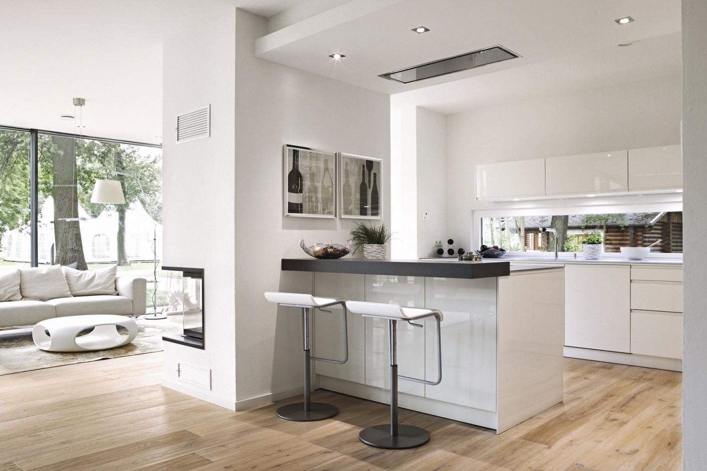 Detail  Küche Und Wohnzimmer Haus Küchen Offene Küche von Wohnzimmer Mit Offener Küche Bilder Bild