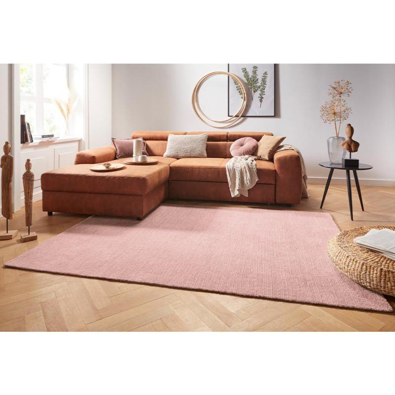 Details Zu Design Kurzflor Teppich Supersoft Altrosa von Wohnzimmer Teppich Altrosa Bild
