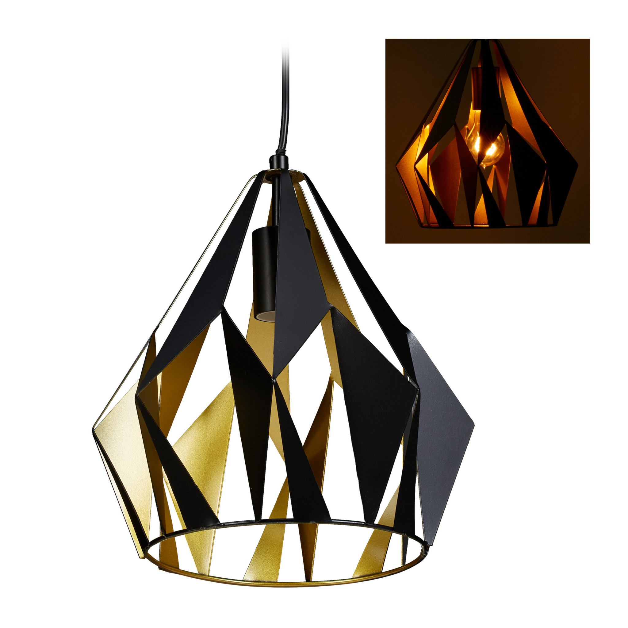 Details Zu Hängelampe Retro Metall Hängeleuchte Industrial Lampe E27  Pendellampe Wohnzimmer von Wohnzimmer Lampe Industrial Photo