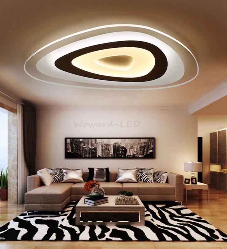 Details Zu Led Deckenlampen Decken Leuchte 16W Bis 115W von Wohnzimmer Deckenlampe Led Photo