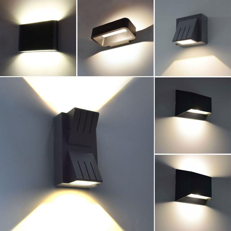 Details Zu Moderne Led Aussenleuchte Wandleuchte Aussenlampe von Wohnzimmer Lampe Led Bild