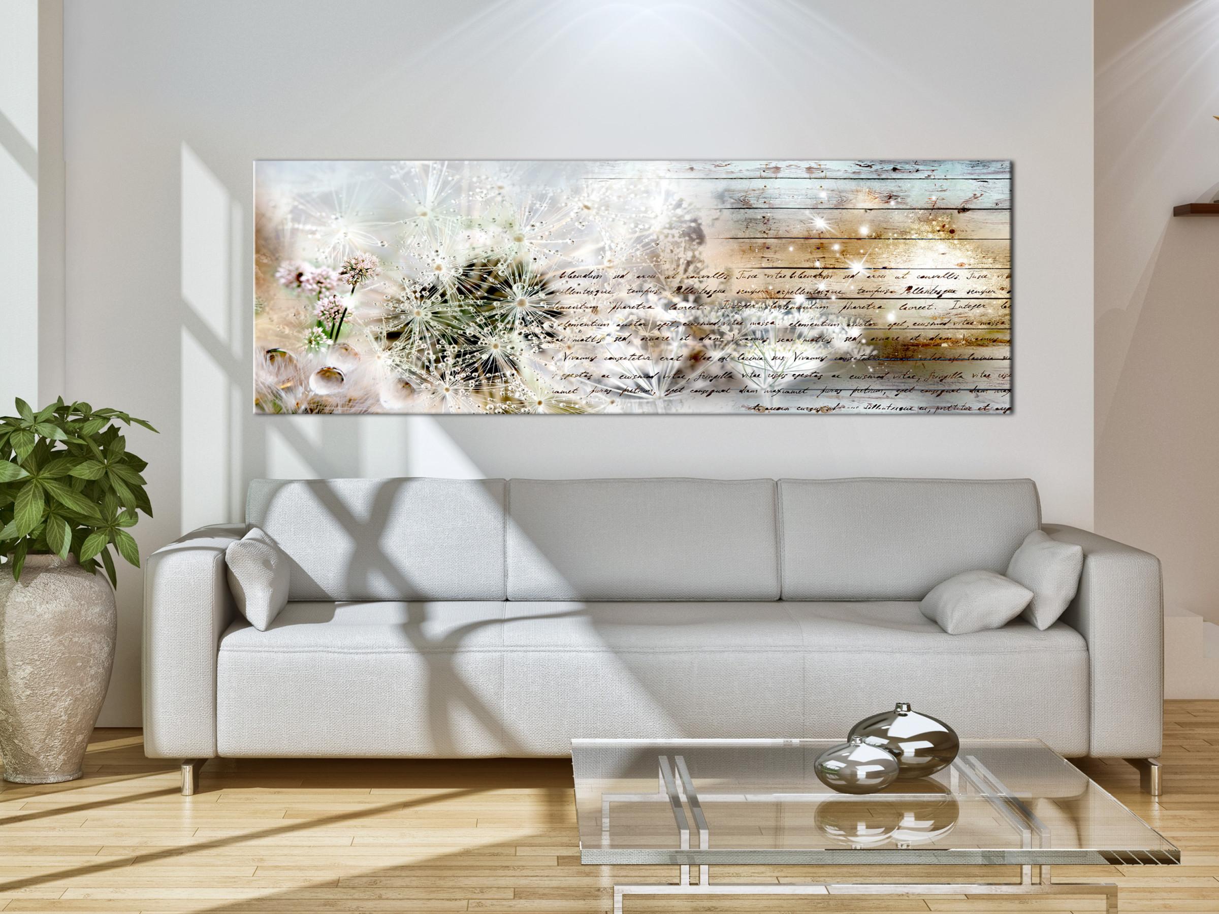 Details Zu Pusteblume Natur Vintage Wandbilder Xxl Bilder Vlies Leinwand  Fc0172Bb von Bilder Leinwand Wohnzimmer Bild