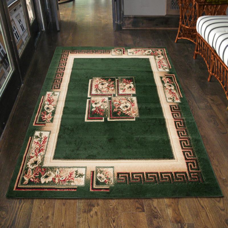 Details Zu Teppich Wohnzimmer Klassisch Griechisch Grün Läufer S  Xxl  200X300 300X400 Mehr von Wohnzimmer Teppich 300X400 Photo