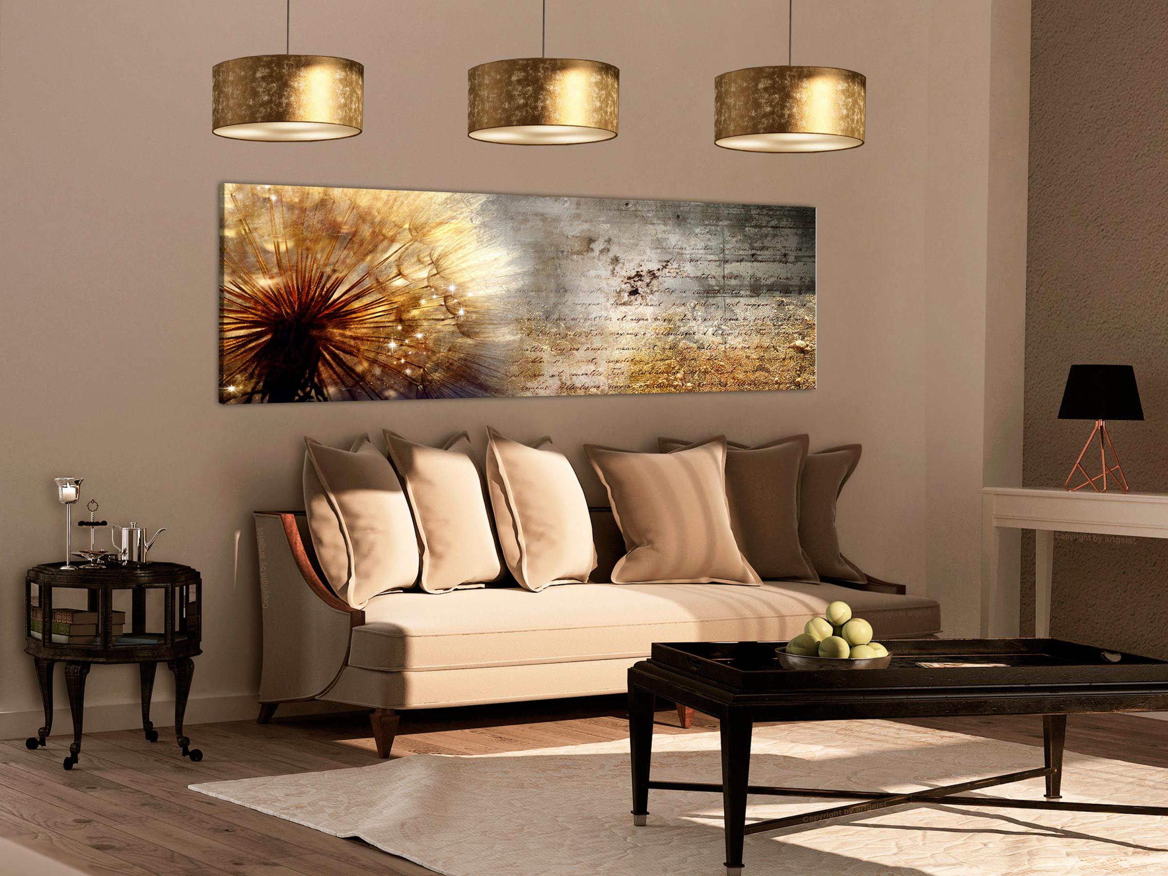 Details Zu Wandbilder Xxl Pusteblume Abstrakt Natur Leinwand Bilder  Wohnzimmer Bc0180Bb von Wohnzimmer Bilder Auf Leinwand Bild