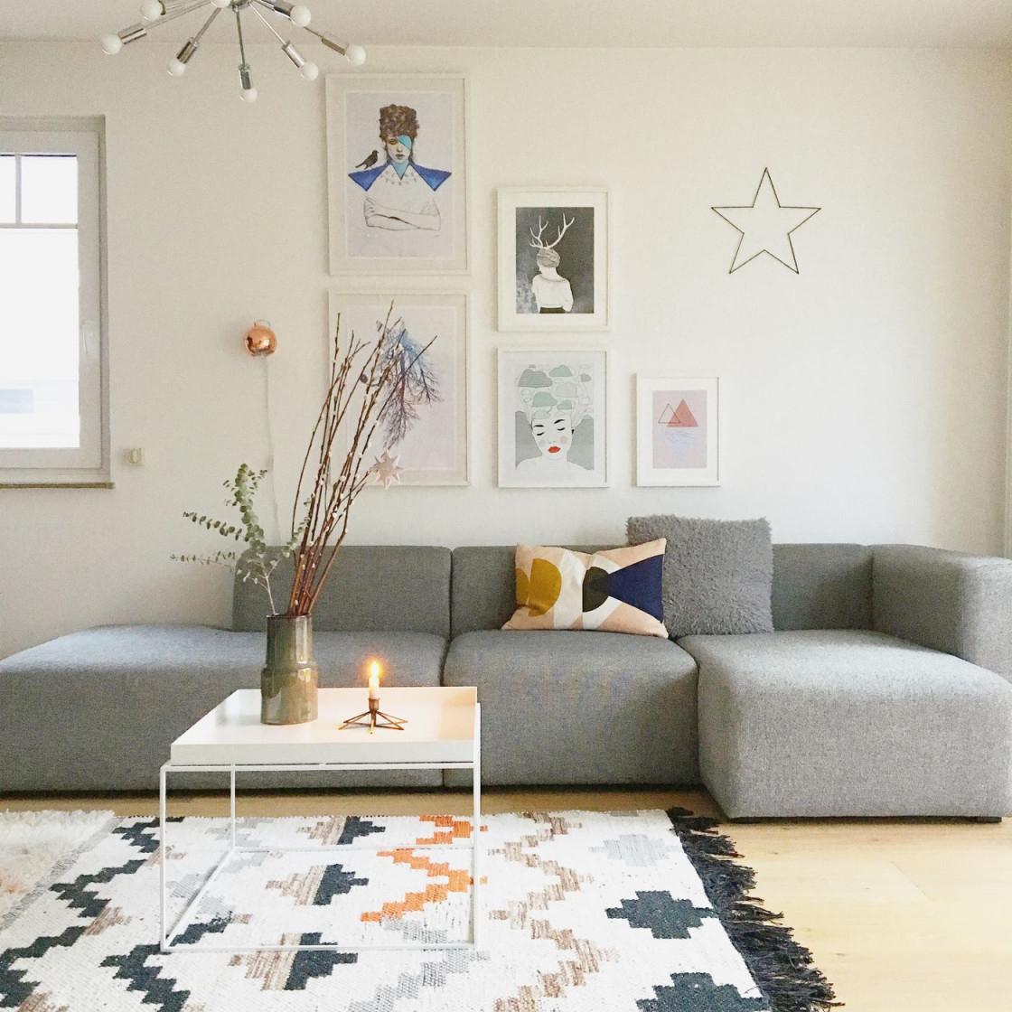 Die Besten Ideen Für Die Wandgestaltung Im Wohnzimmer von Moderne Wohnzimmer Wandgestaltung Bild