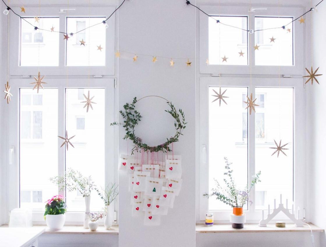 Die Schönsten Deko Ideen Mit Girlanden von Deko Girlande Wohnzimmer Photo
