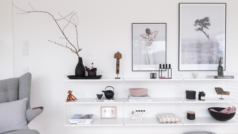 Die Schönsten Ideen Für Dein Wandregal von Wandregal Wohnzimmer Deko Photo