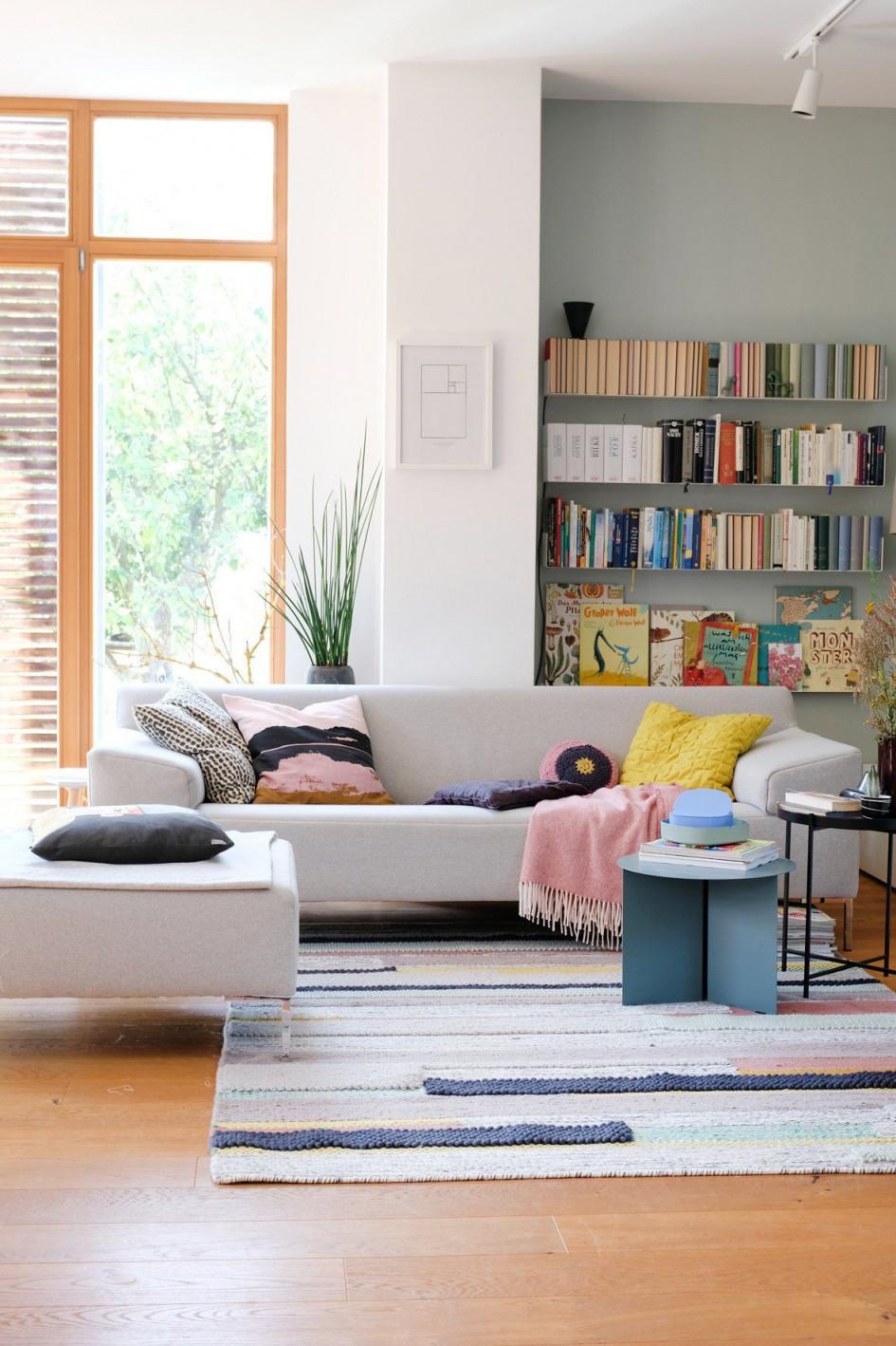 Die Schönsten Ideen Für Dein Wandregal von Wandregal Wohnzimmer Ideen Bild