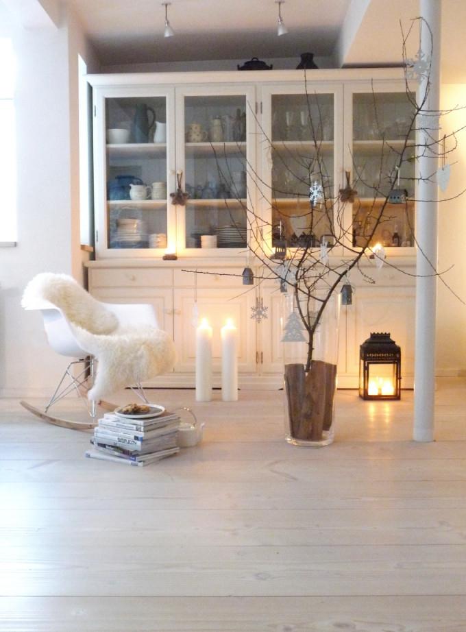 Die Schönsten Ideen Für Deine Weihnachtsdeko von Weiße Deko Wohnzimmer Photo