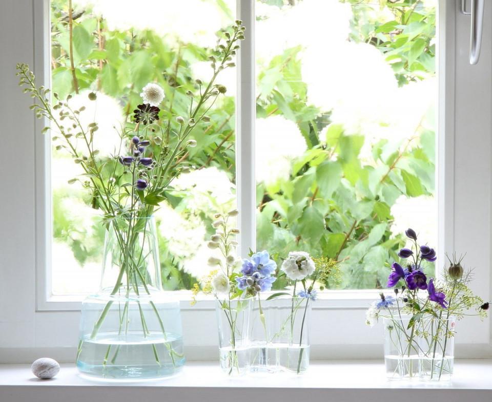 Die Schönsten Ideen Für Die Fensterbank  Fensterbrett Deko von Deko Ideen Fensterbank Wohnzimmer Bild