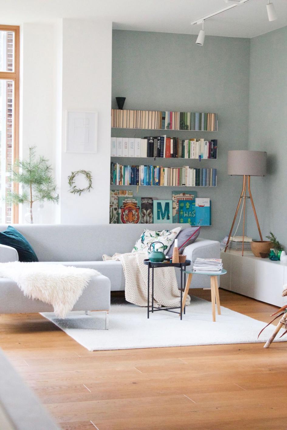 Die Schönsten Ideen Für Die Wandfarbe Im Wohnzimmer von Wohnzimmer Farbig Gestalten Bild