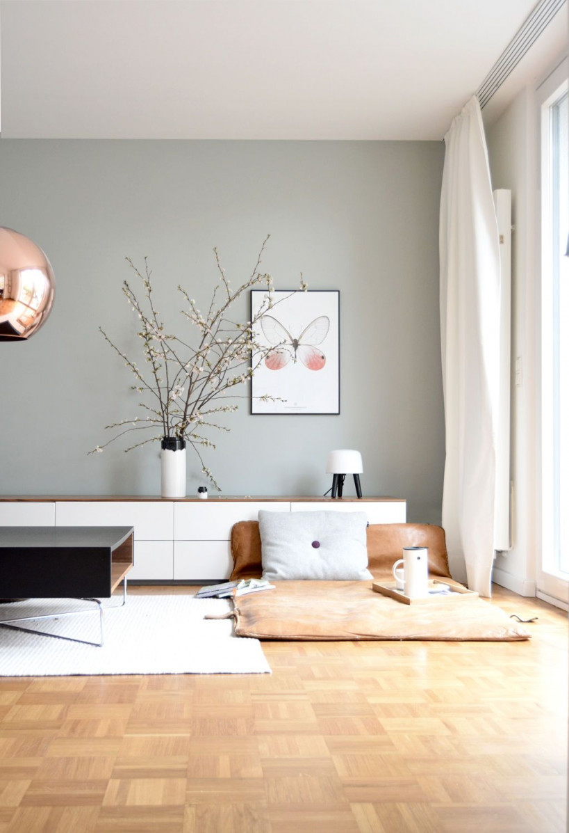 Die Schönsten Ideen Für Die Wandfarbe Im Wohnzimmer von Wohnzimmer Farbig Gestalten Photo