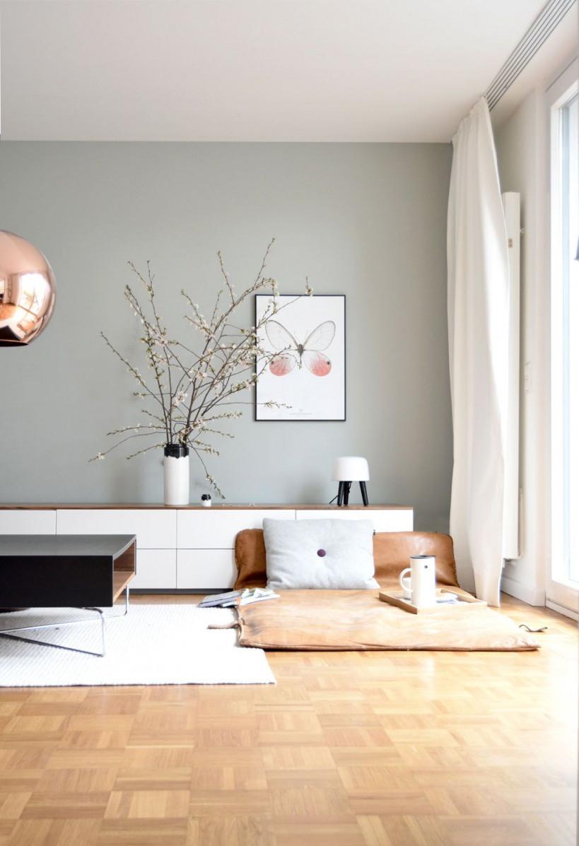 Die Schönsten Ideen Für Die Wandfarbe Im Wohnzimmer von Wohnzimmer Hell Gestalten Bild