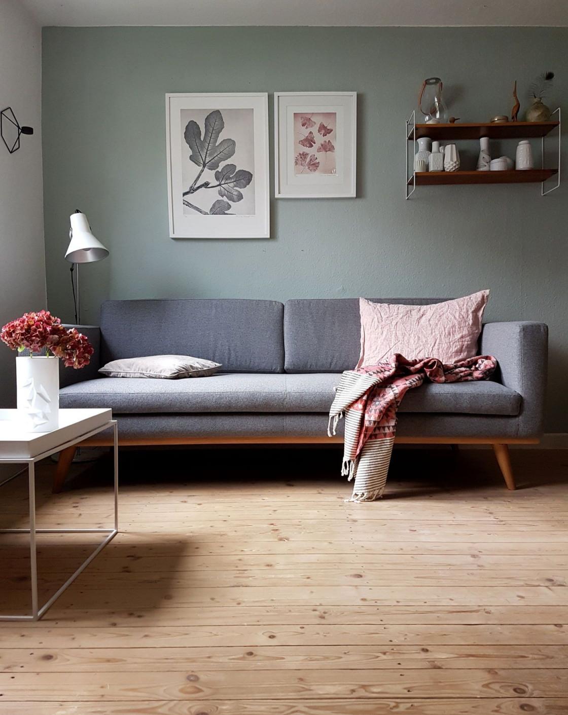 Die Schönsten Ideen Für Die Wandfarbe Im Wohnzimmer von Wohnzimmer Wände Farbig Gestalten Bild