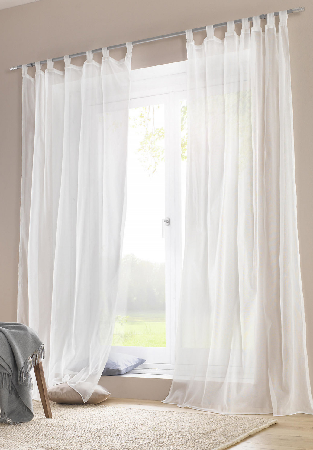 Die Schönsten Ideen Für Vorhänge  Gardinen von Gardinen Wohnzimmer Mit Schlaufen Photo