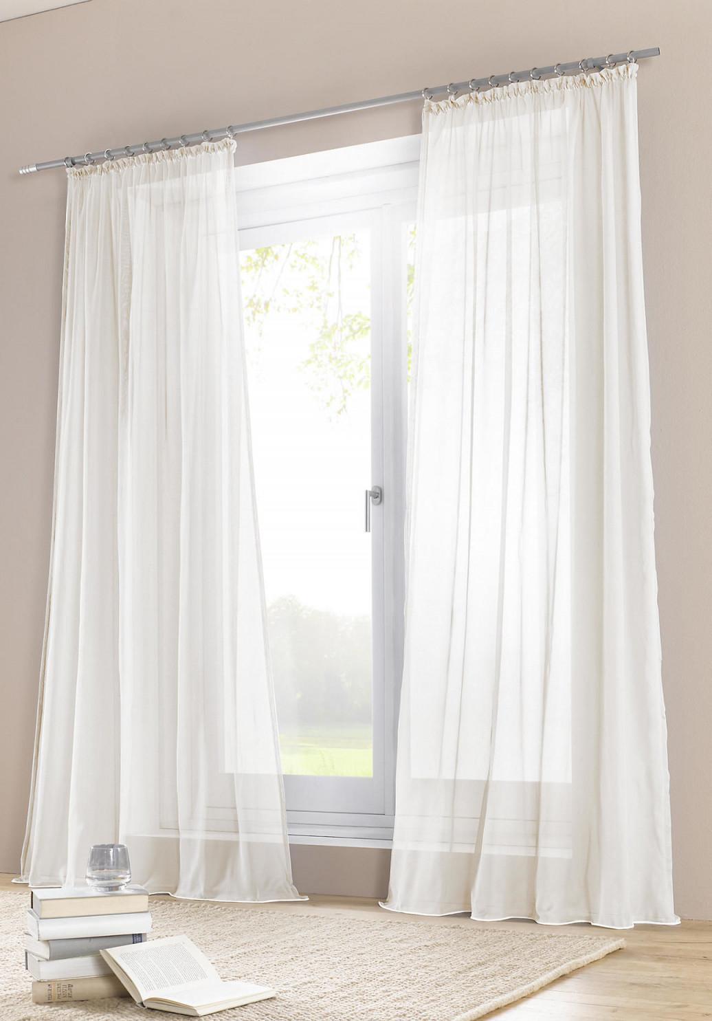 Die Schönsten Ideen Für Vorhänge  Gardinen von Gardinen Wohnzimmer Modern Weiß Photo