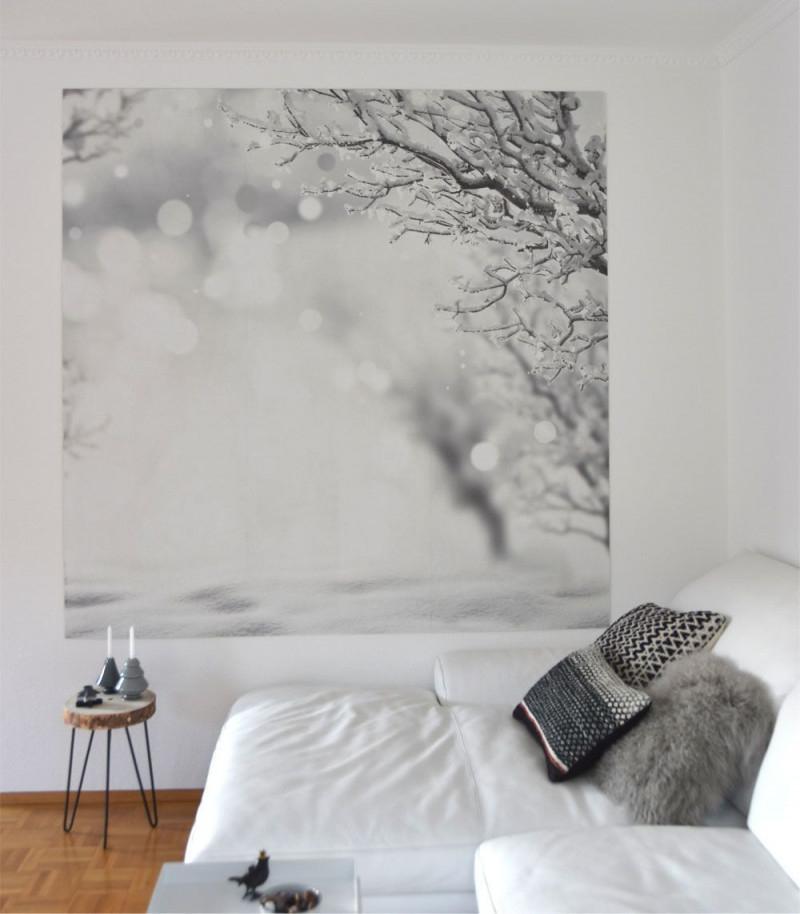 Die Schönsten Ideen Mit Tapeten von Tapeten Ideen Wohnzimmer Grau Photo