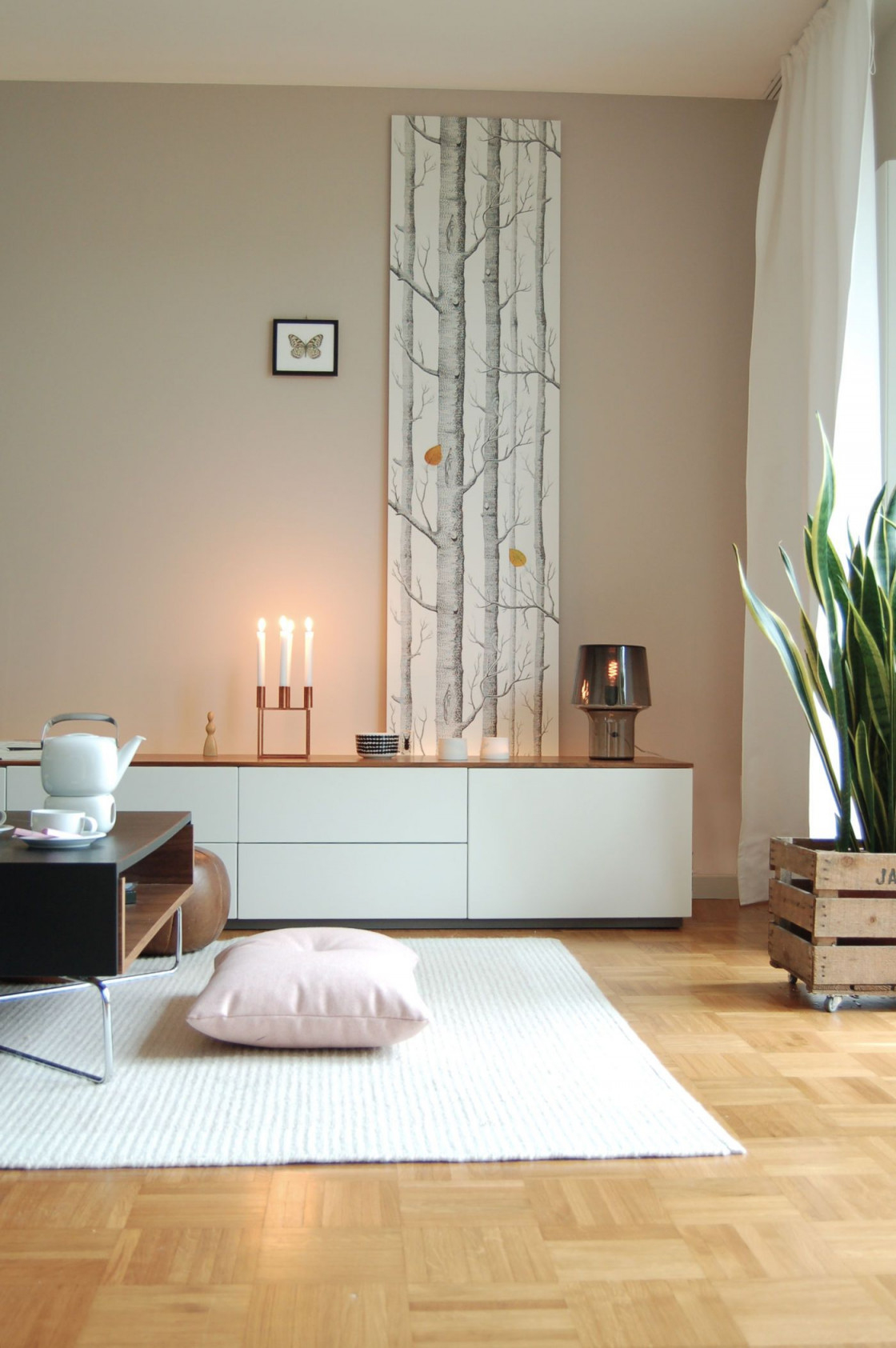 Die Schönsten Ideen Mit Tapeten von Wohnzimmer Tapezieren Ideen Bild