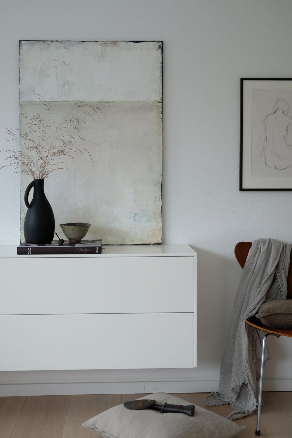 Die Schönsten Sideboards 500 Bilder Aus Echten Wohnungen von Deko Sideboard Wohnzimmer Bild