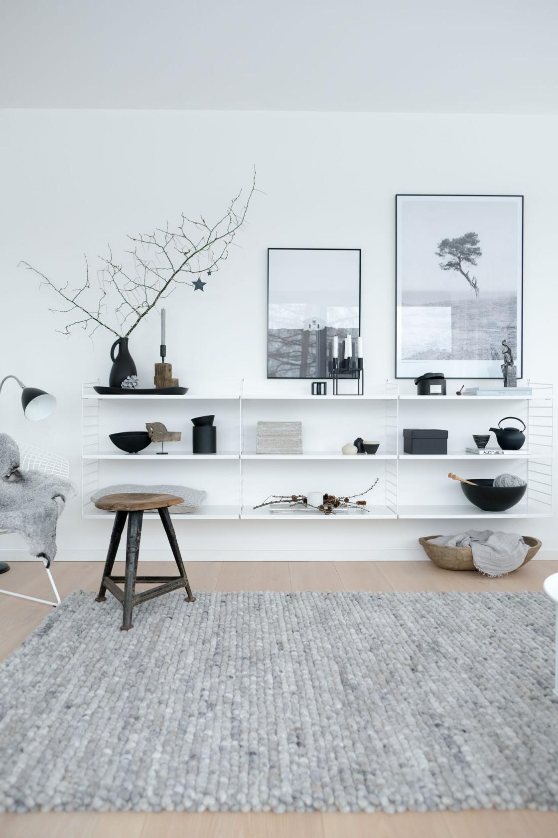 Die Schönsten Wohnideen Mit Regalen von Wandregal Wohnzimmer Ideen Bild