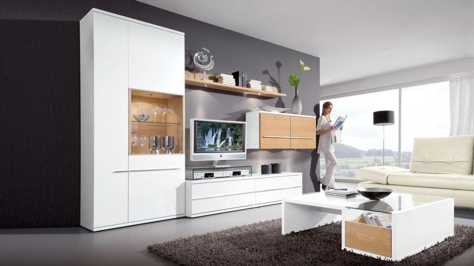 Diese Wohnwand Von Loddenkemper Bringt Moderne Eleganz In von Moderne Schrankwand Wohnzimmer Bild