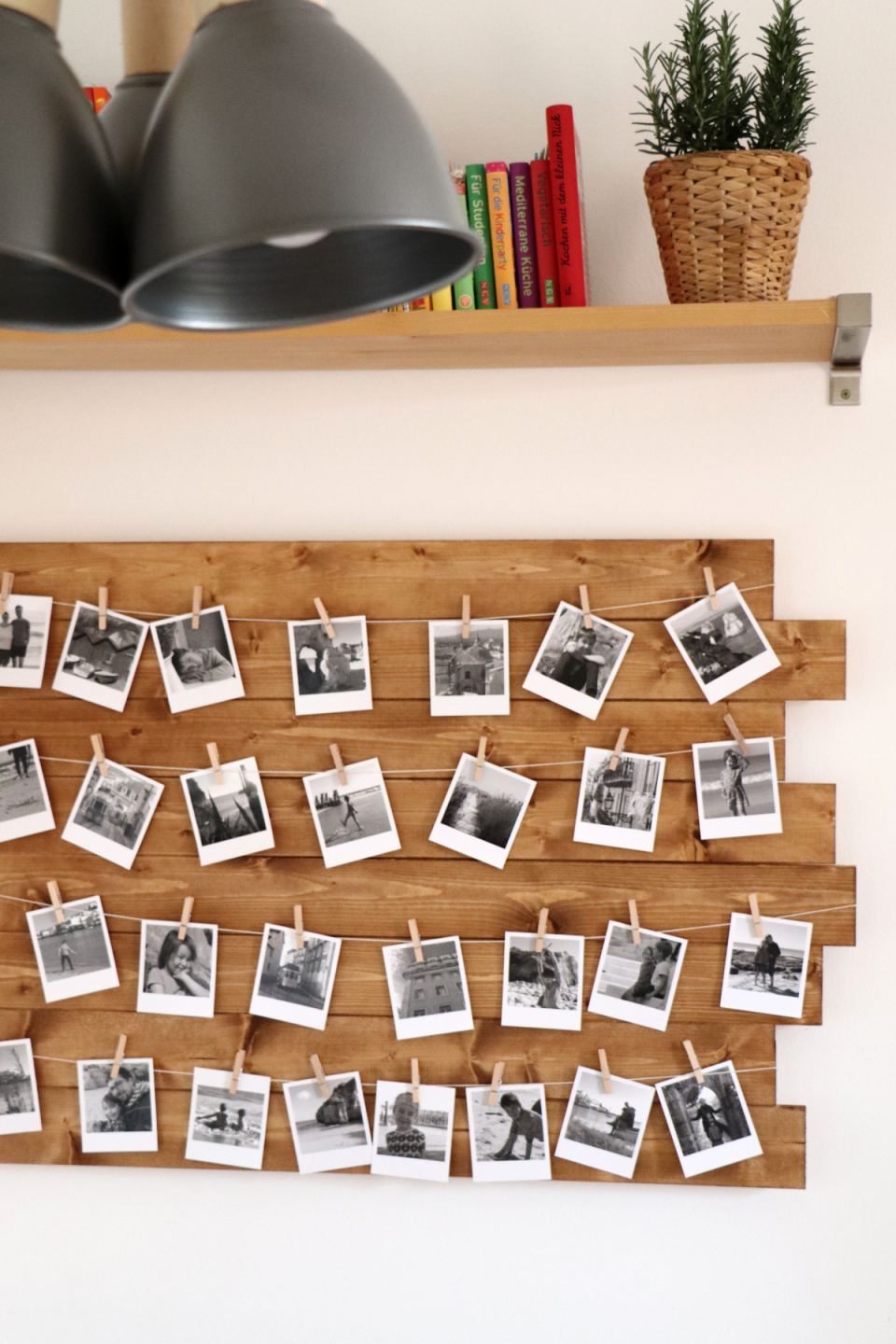 Diy Build A Photo Wall  Diy Photo Wall Build As A Kitchen von Deko Diy Wohnzimmer Photo