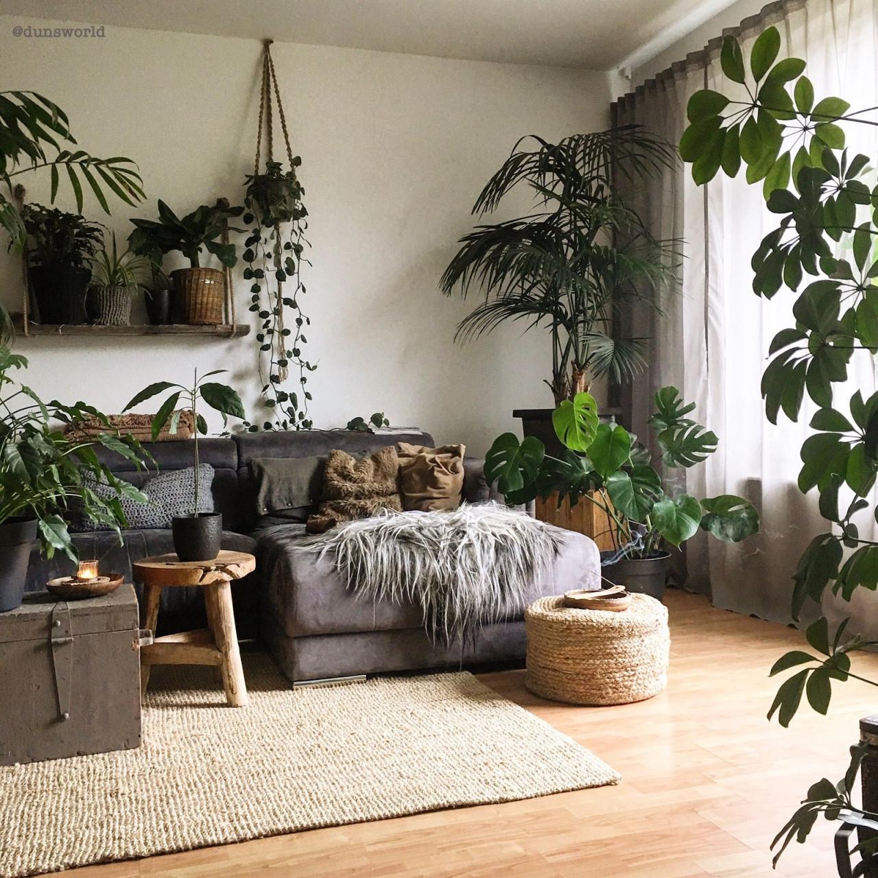 Dunsworld  Wohnzimmer Design Wohnzimmer Gestalten von Wohnzimmer Mit Pflanzen Gestalten Photo