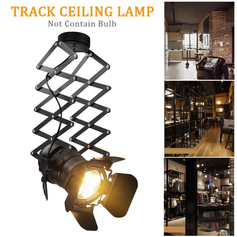 E27 Retro Industrie Länge Decke Lampe Wohnzimmer Teleskop von Scheinwerfer Lampe Wohnzimmer Photo