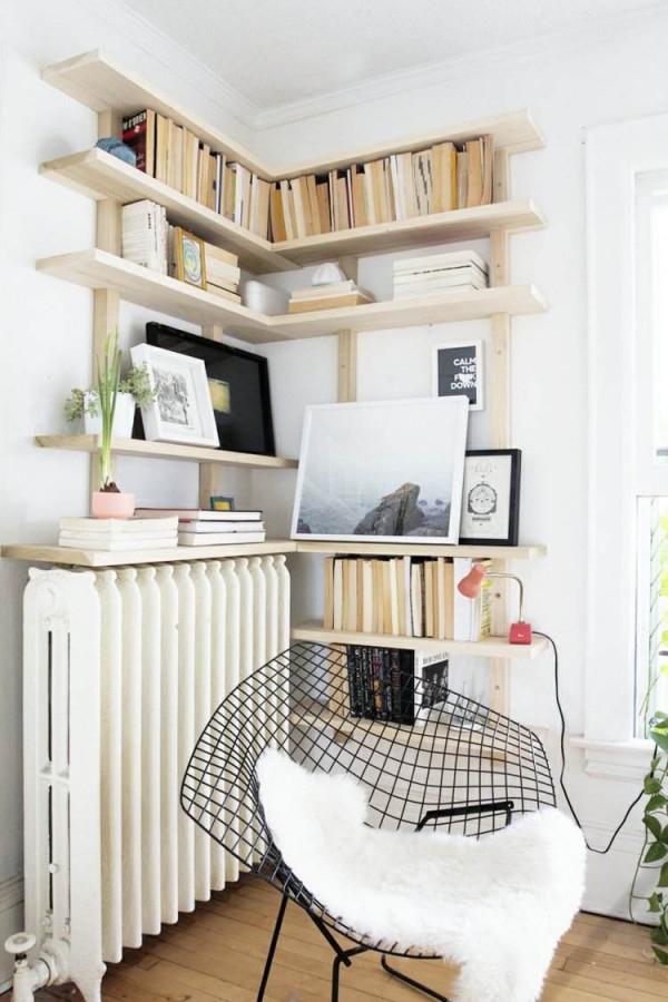 Ecke Sinnvoll Nutzen  20 Ideen Was Dort Passen Würde von Deko Für Ecken Im Wohnzimmer Bild