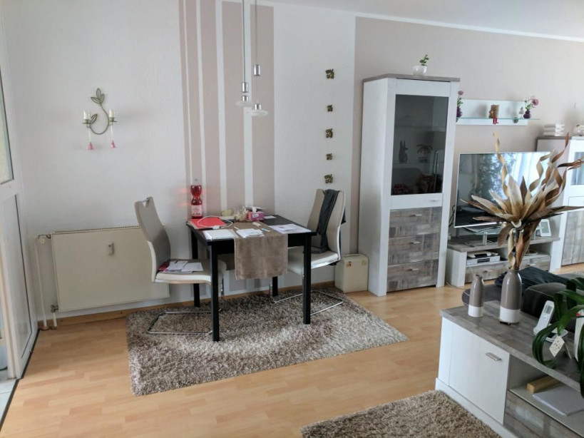 Ein Sehr Gemütliches Kleines Esszimmer Besonders Schön Ist von Wohnzimmer Mit Essbereich Einrichten Photo