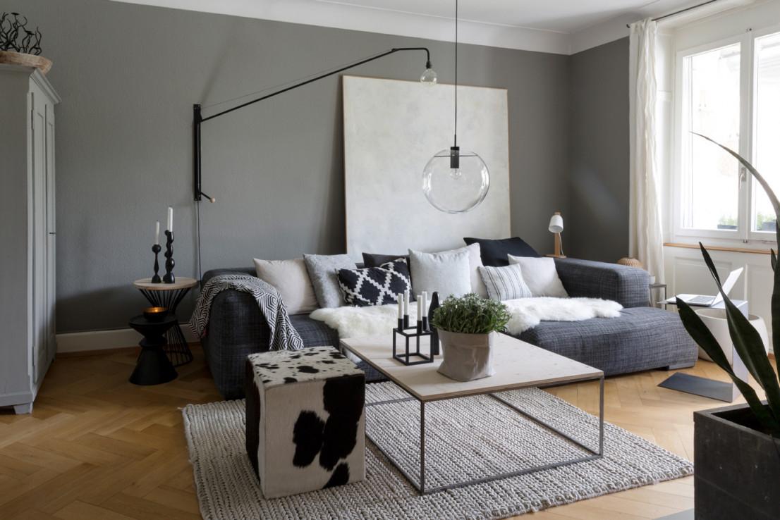 Eine Wohnung Voller Ideen  Sweet Home von Wohnung Wohnzimmer Ideen Photo