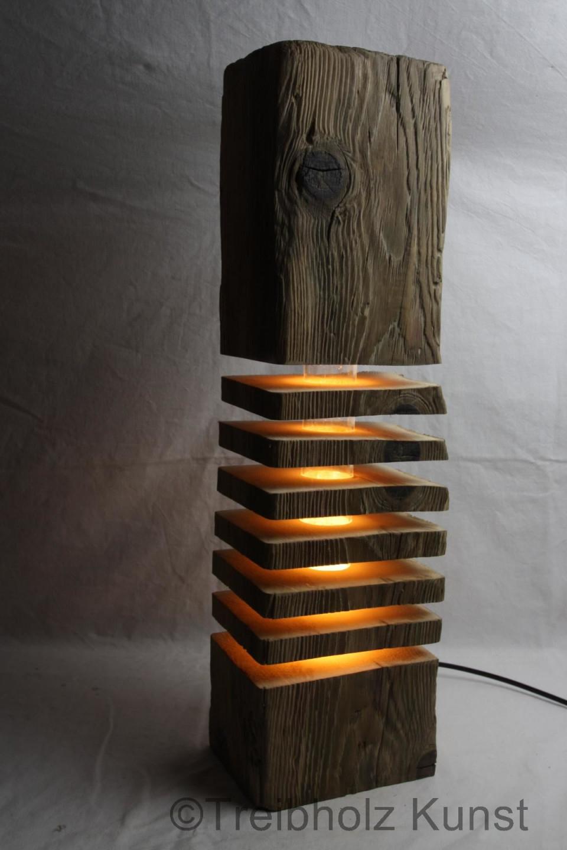 Einmalige Treibholz Lampen  Wwwtreibholzbodensee von Gemütliche Wohnzimmer Lampe Photo