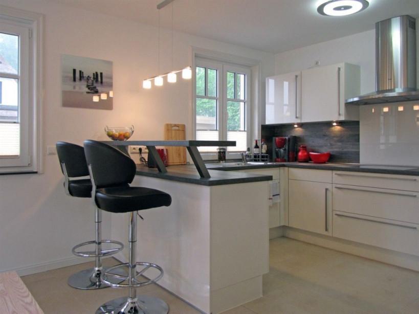 Einrichtung Wohnzimmer Mit Offener Küche  Home Decor Open von 30 Qm Wohnzimmer Einrichten Bild