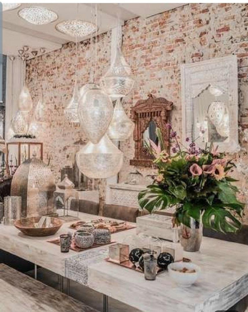 Einrichtungsstil Orientalisch  Morrocan Decor Moroccan von Orientalische Deko Wohnzimmer Bild