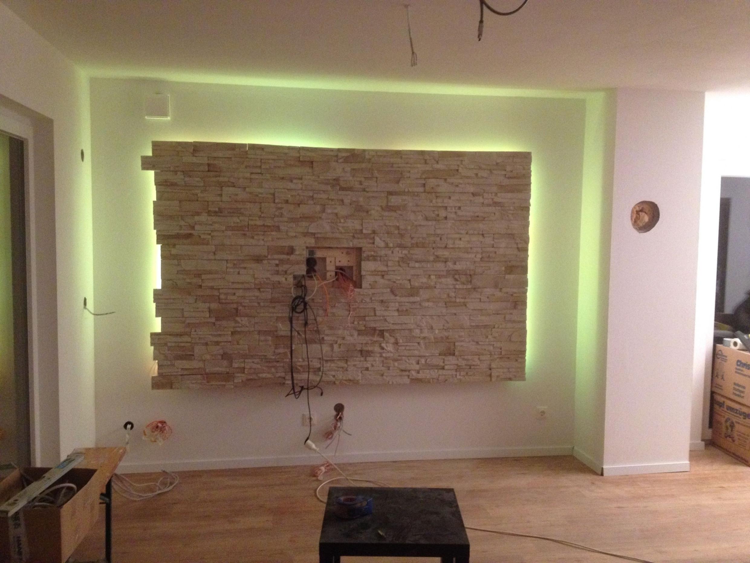 Einzigartig Wohnzimmer Ideen Steinwand  Steinwand von Wohnzimmer Ideen Steinwand Bild