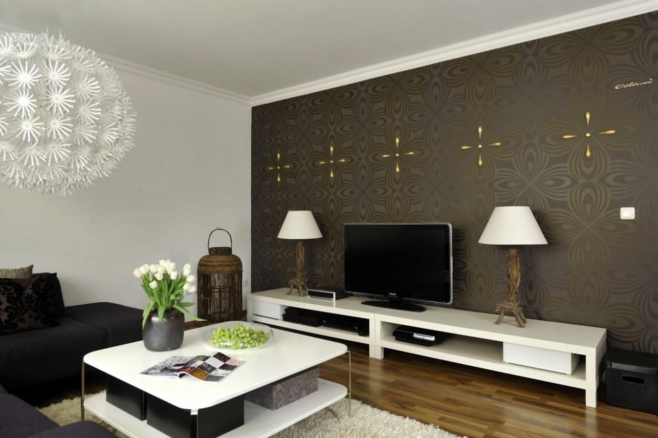 Elegant Wohnzimmer Tapeten Ideen  Wohnzimmer Design von Ideen Für Wohnzimmer Tapeten Photo