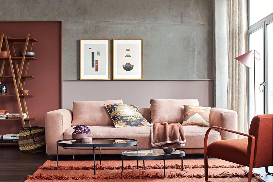 Erdfarben – Edel Und Warm  Schöner Wohnen Schöner Wohnen von Wohnzimmer Warm Einrichten Bild