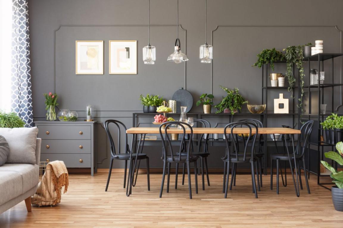 Esszimmer Ideen Und Tipps Für Die Einrichtung  Brigitte von Wohnzimmer Und Esszimmer Ideen Bild