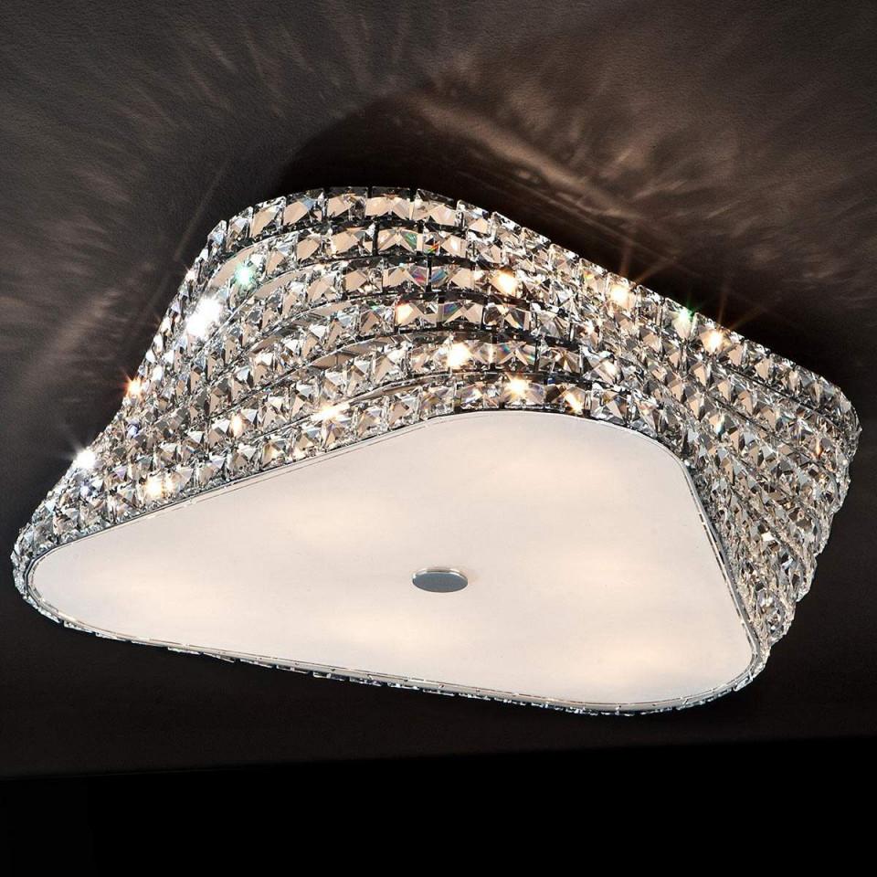 Extravagante Ledkristalldeckenleuchte Elis Jetzt Bestellen von Deckenleuchte Wohnzimmer Kristall Bild