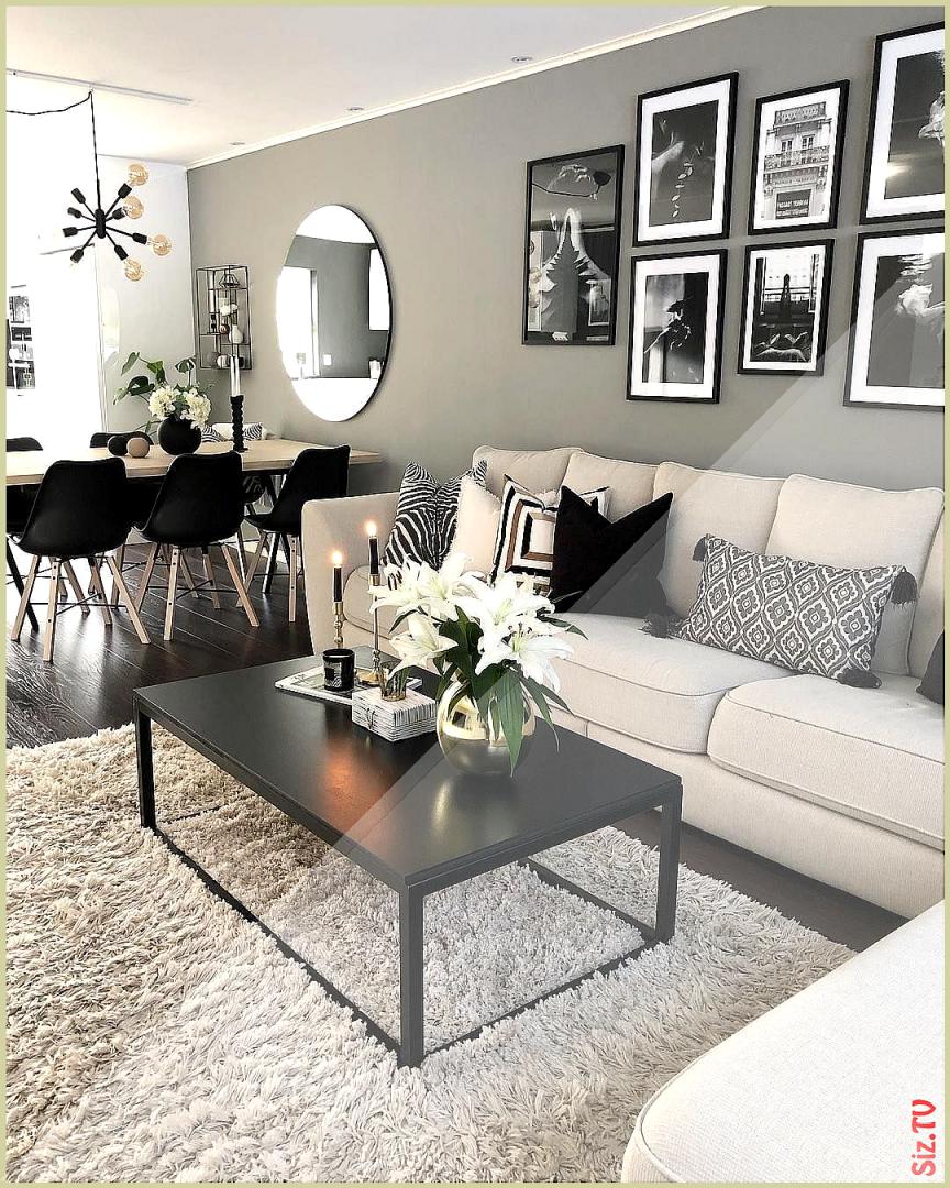 📷 @interiorbymaria 💙 ⠀ ⠀ Wooow 😍 Einfach Klasse von Wohnzimmer Ideen Schwarz Photo