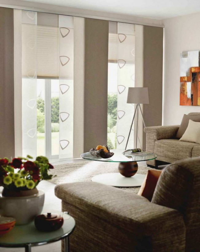 Fenster Vorhange Ideen von Wohnzimmer Fensterfront Gardinen Bild