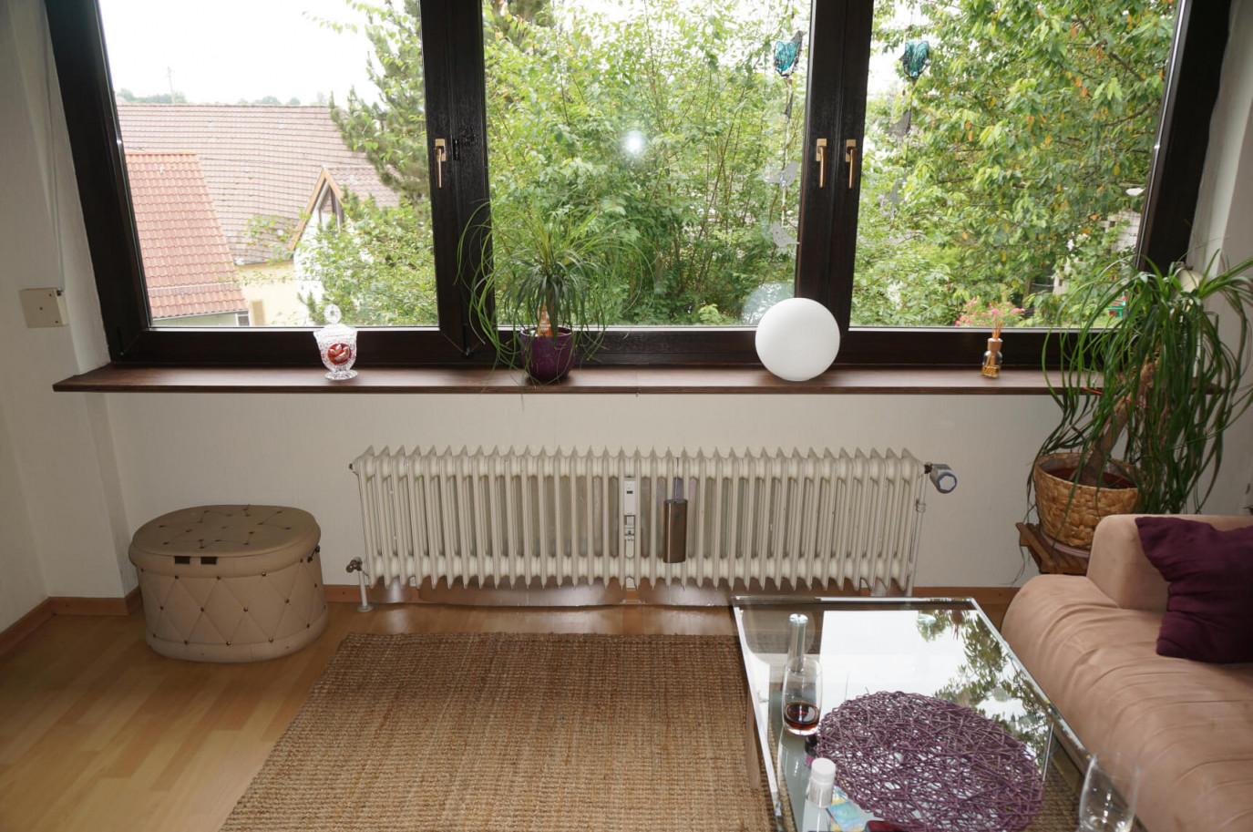 Fensterbank Deko  Holzdekor  Möbelfolie  Resimdo von Fensterbank Deko Wohnzimmer Bild