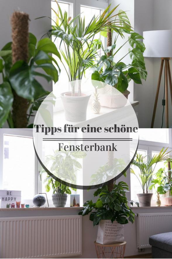 Fensterbank Deko Tipps Für Eine Schöne Fensterbank von Fensterbank Gestalten Wohnzimmer Photo
