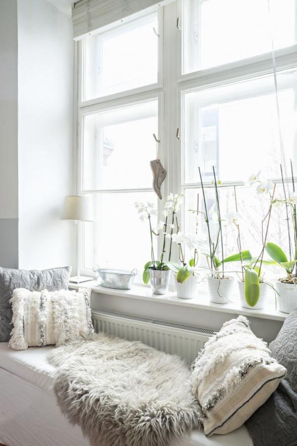 Fensterbänke Dekorieren 11 Styletricks Und Ideen  Das von Deko Wohnzimmer Fensterbank Bild