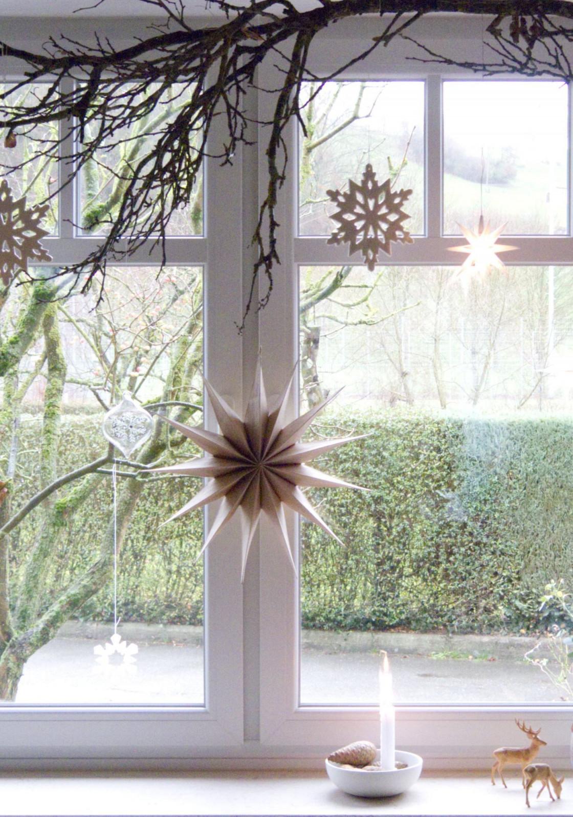 Fensterdeko Schöne Ideen Zum Dekorieren von Deko Hängend Wohnzimmer Photo