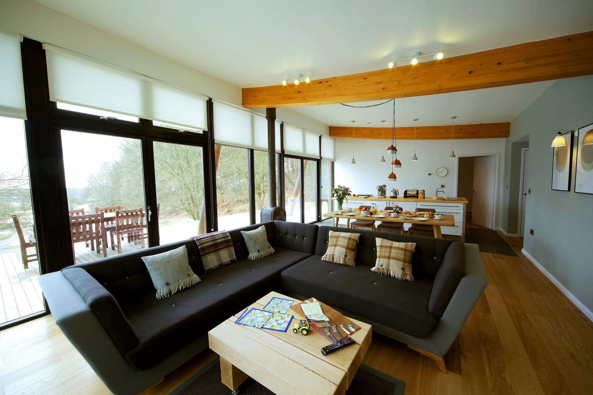 Fensterfront Wohnzimmer Neu Wohnzimmer Ideen Country Neu von Wohnzimmer Mit Fensterfront Einrichten Bild