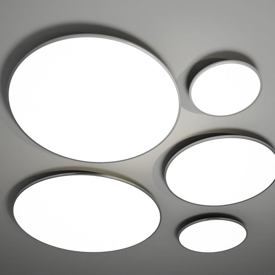 Flache Deckenleuchten Tera In 40 Bis 100 Cm  Casa Lumi von Wohnzimmer Lampe Flach Photo