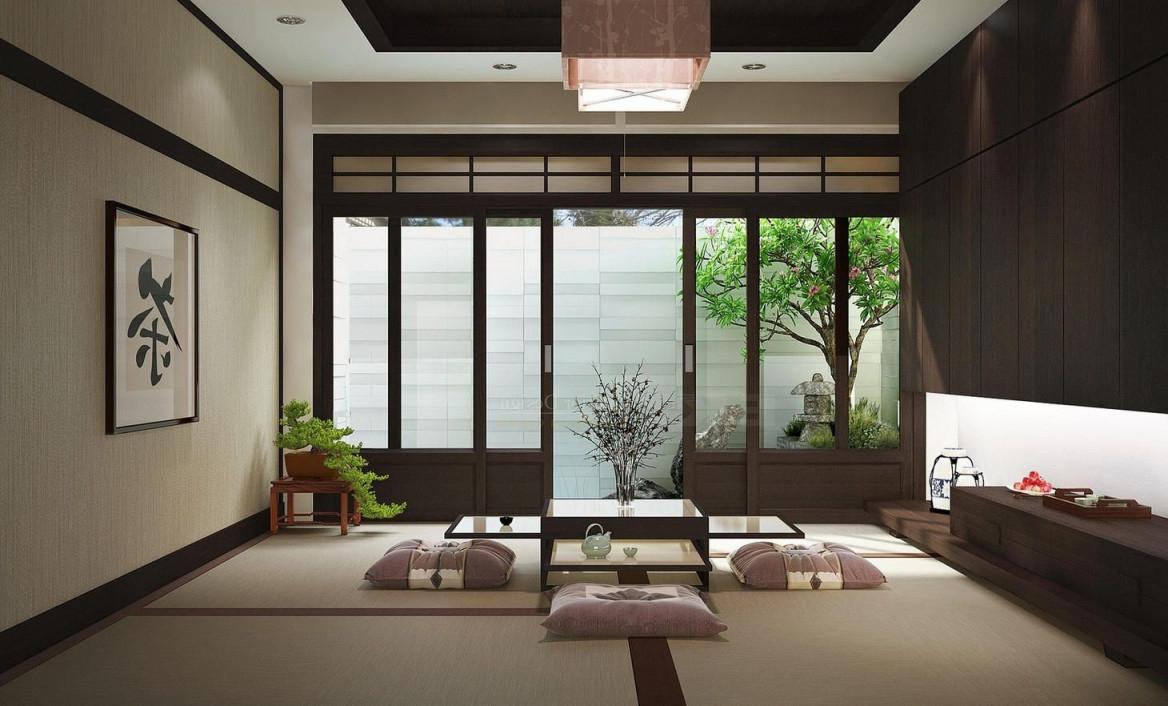 Formelles Wohnzimmer Für Japanisches Haus (Mit Bildern von Wohnzimmer Japanisch Einrichten Photo