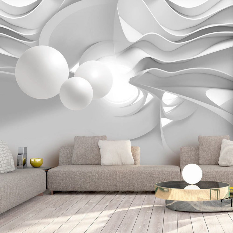 Fototapete 3D Optik Vlies Tapete 3D Effekt Wandbild Xxl von 3D Wohnzimmer Tapeten Bild